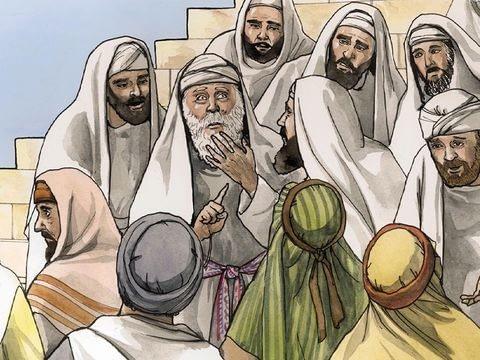Zechariah could not speak